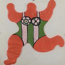 NIKI DE SAINT PHALLE  (1930-2002)  NANA BALLON, 1968  Sculpture gonflable
