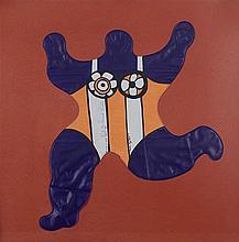 NIKI DE SAINT PHALLE  (1930-2002)  NANA BALLON, CIRCA 1980  Sculpture gonfl