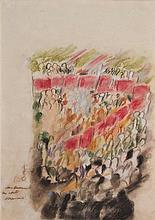 MARIANO RODRIGUEZ (1912-1990) SANS TITRE De la série Las masas Technique mi