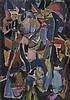 ANDRE LANSKOY (1902-1976)  SANS TITRE, 1971   Huile sur toile  Signée en, Andre Lanskoy, €12,000
