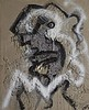 WOLF VOSTELL (1932-1998)  SANS TITRE, 1989   Technique mixte (acrylique,, Wolf Vostell, €1,000
