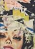 JACQUES VILLEGLE (NE EN 1926)  RUE MAYET, 8 AOUT1962   Affiches lacérées, Jacques Mahe de la Villegle, €10,000