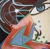 CRASH (NE EN 1961)  (JOHN MATOS DIT)   THE TIE THAT BEND, 2001   Acryliqu,  Crash, €5,000