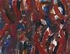 JACQUES GERMAIN  (1915-2001)  COMPOSITION ABSTRAITE   Gouache sur papier, Jacques (1915) Germain, €600