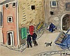 AUGUSTE CHABAUD (1882-1955)   PLACE DE VILLAGE, 1907, Auguste Chabaud, €3,500