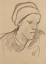 PAUL SÉRUSIER (1864-1927)   PORTRAIT DE LOUISE, OU DEUX