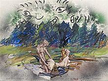 "ERIK DIETMAN (1937-2002) ""KAN ETT NUMMER DOLJA SEX, CIRCA 1970"" ""Encre, p"