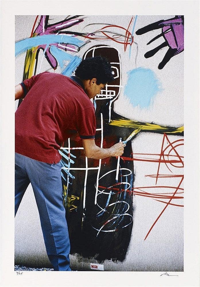 LEE JAFFE (NE EN 1950)  SANS TITRE, 1986  Tirage à la gélatine d'argent  Si