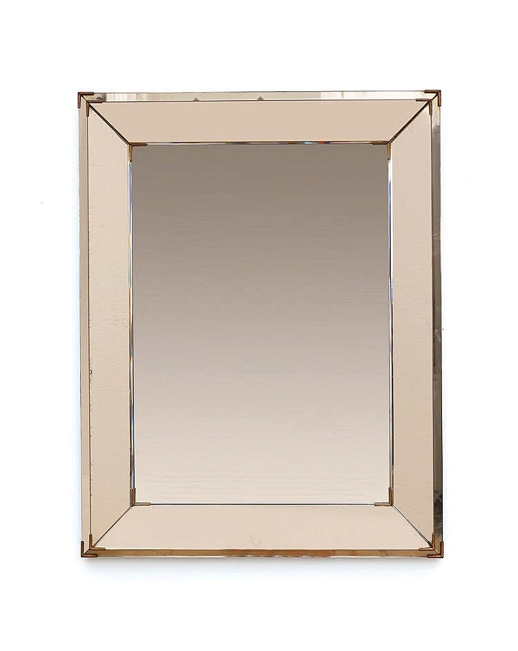 jacques adnet 1900 1984 grand miroir rectangulaire