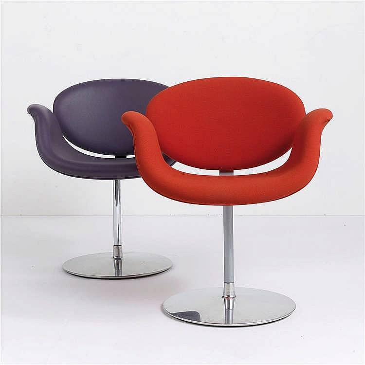pierre paulin 1927 2009 fauteuil f545 dit little tulip. Black Bedroom Furniture Sets. Home Design Ideas