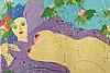 WALASSE TING (1929-2010) NU AU CHRYSANTHEME, 1977 Lithographie en coul, Walasse Ting, €1,000