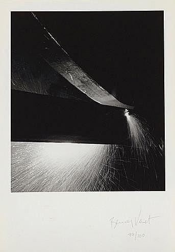 BERNAR VENET (NE EN 1941) SANS TITRE Digigraphie Signée et numérotée 7