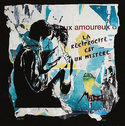 MISS TIC (NE EN 1956) LA RECIPROCITE EST UN MYSTERE, 2011 Sérigraphie