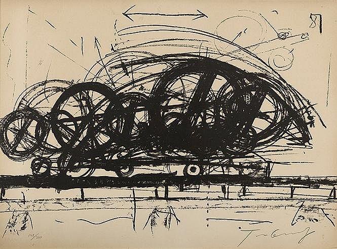 JEAN TINGUELY (1925-1991) HANNIBAL II, 1967 (Rainer Michaël Mason, 99)