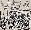 A.R. PENCK (NE EN 1939) POCHETTES DE DISQUES Ensemble de 28 vinyles do