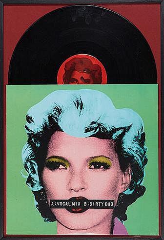 BANKSY (NE EN 1974) KATE MOSS / DIRTY FUNKER, 2006 Pochette Vinyle Imp