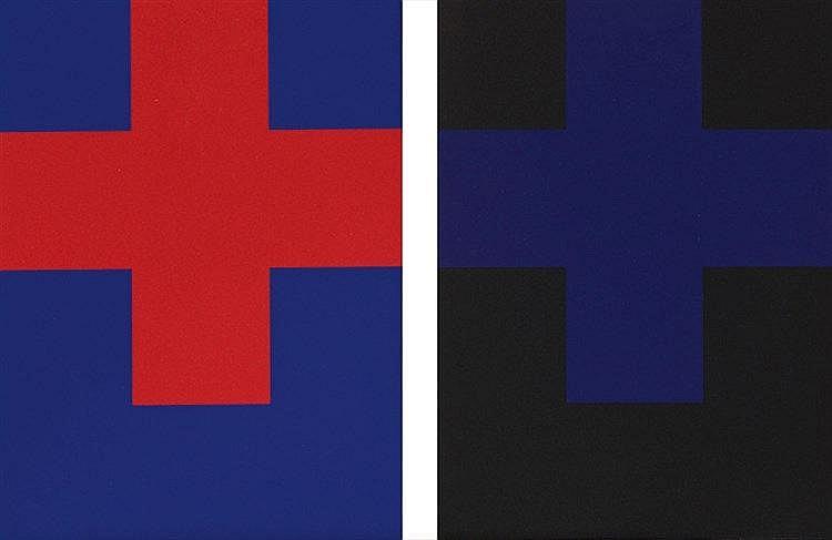 AURELIE NEMOURS (1910-2005) HOMMAGE A OTTO FREUNDLICH, 1989 (Musée de