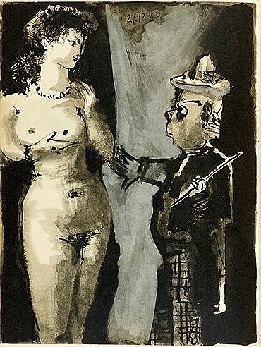 PABLO PICASSO (1881-1973) VERVE-VOL VIII, NO. 29 ET 30, 1954 Numéro de