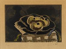 D'APRES GEORGES BRAQUE (1882-1963) NATURE MORTE AUX POMMES, 1950 Collo