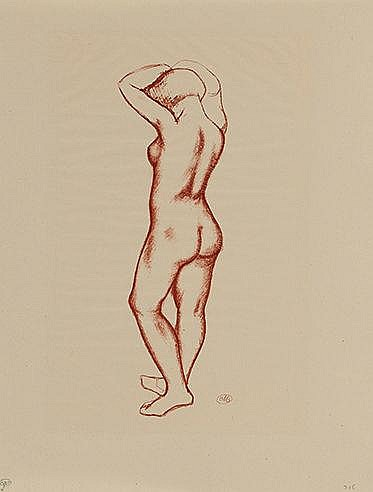 L'ART D'AIMER D'OVIDE, 1935  Quatre lithographies extraites de l'o
