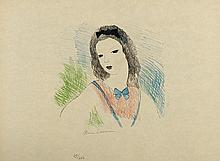 MARIE LAURENCIN (1883-1956) ALICE, 1930 (Marchesseau, 164) Lithographi