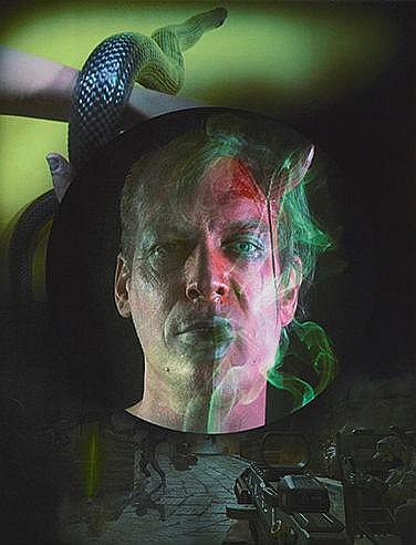 TONY OURSLER (NE EN 1957) PHANTASMAGORIA, 2014 Photolithographie Accom