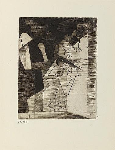 LOUIS MARCOUSSIS (1978-1941) AURELIA, 1931 (Milet, 55-64) Portfolio co