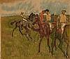 D'APRES EDGAR DEGAS (1834-1917) AVANT LA COURSE, 1910 Lithographie en, Edgar Degas, €400