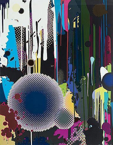 TAKASHI MURAKAMI (NE EN 1962) DAVY JONES, 2008 Offset en couleurs sur