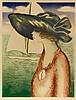 JEAN-PIERRE CASSIGNEUL (NE EN 1935) LE VOILIER, 1973 Lithographie en c, Jean-Pierre Cassigneul, €400