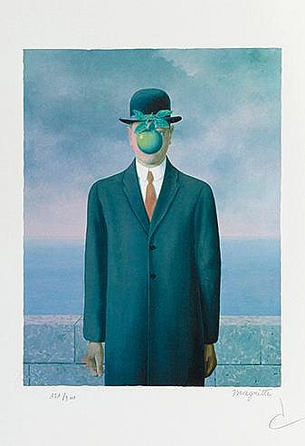 D'APRES RENE MAGRITTE (1898-1907) MAGRITTE LITHOGRAPHIES VI, 2011 Port