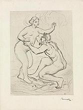 AUGUSTE RENOIR (1841-1919) LE FLEUVE SCAMANDRE, 2E PLANCHE, CIRCA 1900