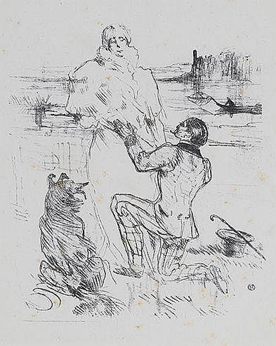 HENRI DE TOULOUSE-LAUTREC (1864-1901) DECLARATION, 1898 (Delteil 327,