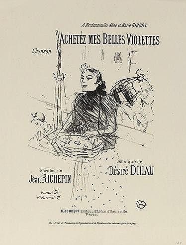 D'APRES HENRI DE TOULOUSE LAUTREC (1864-1901) Ensemble de deux affiche