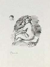 AUGUSTE RENOIR (1841-1919) DOUZE LITHOGRAPHIES ORIGINALES DE PIERRE AU
