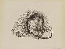 AUGUSTE RENOIR (1841-1919) LE PETIT GARCON AU PORTE PLUME, CLAUDE RENO