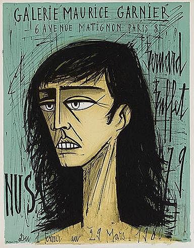 BERNARD BUFFET (1928-1999) Ensemble de trois affiches lithographiques
