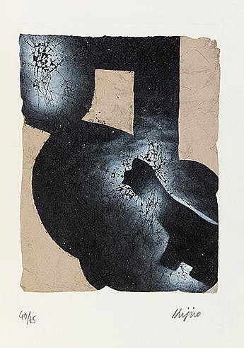 LADISLAS KIJNO (1921-2012) UNE MAIN OU VIVRE, 1989 Portfolio comprenan