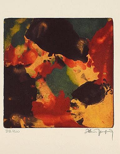 ALAIN JACQUET (1939-2008) SANS TITRE Digigraphie sur vélin d'Arches Si