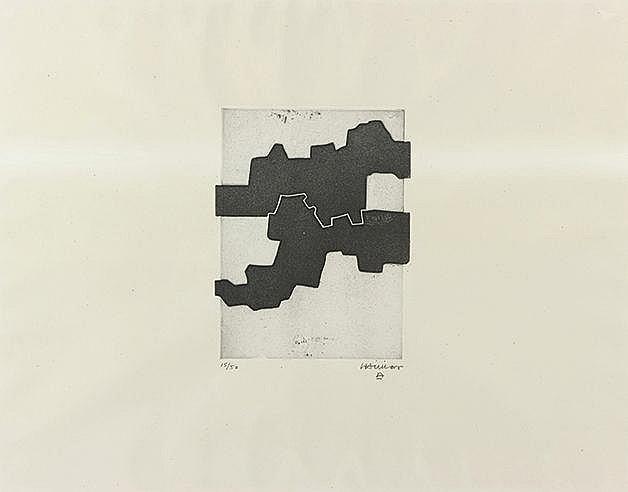 EDUARDO CHILLIDA (1924-2002) GEZNA III, 1969 (Van der Koelen, 69023) A