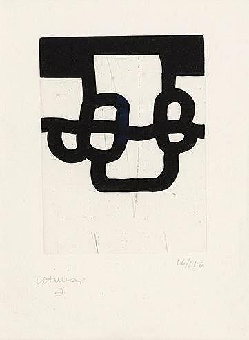 EDUARDO CHILLIDA (1924-2002) PROPORTION, 1985 (Van der Koelen, 85007)