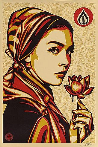 SHEPARD FAIREY (OBEY GIANT DIT) (NE EN 1970) NATURAL SPRINGS OFFSET PO