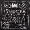 JEAN-MICHEL BASQUIAT (1960-1988) TEST PRESSING, BEAT POP, 1983-2014 Po, Jean-Michel Basquiat, €150