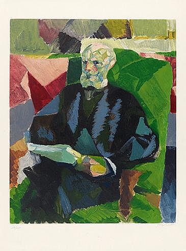 JACQUES VILLON (1875-1963) MONSIEUR DUCHAMP (Ginestet & Pouillon, App.