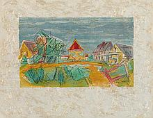 JACQUES VILLON (1875-1963) LE PIGEONNIER NORMAND, 1959-1960 (Ginestet