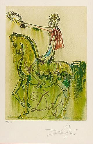 SALVADOR DALI (1904-1989) LE CHEVALIER ROMAIN, 1970-1972 (Michler & Lö