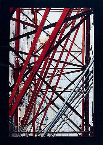 STEPHANE COUTURIER (NE EN 1957) ILOT EDOUARD VII, 1997 C-Print Signé,