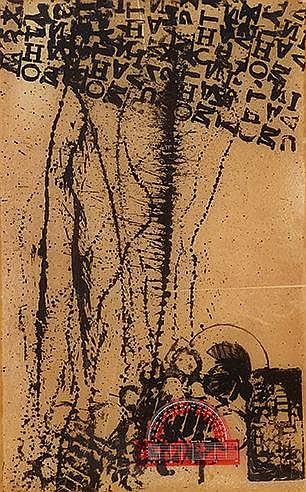 ARMAN (1928-2005) LE RAPPORTEUR, 1965 (Otmezguine & Moreau, 6) Lithogr
