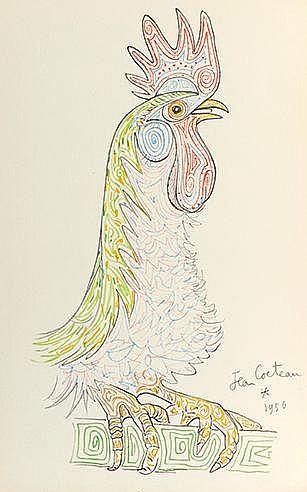JEAN COCTEAU (1889-1963) LA CHAPELLE SAINT PIERRE, CIRCA 1958 Ouvrage