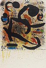 JOAN MIRO (1893-1983) VARIANTE I, JOURNEES MUSICALES DE DONAUECHINGEN,